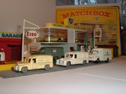 No 14 a, b, c,  Daimler Ambulance, Bedford Ambulance,  1956, 1958, 1962
