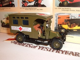 No Y 25 b, 1910, Reanault Type AG Ambulance, 1986
