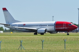 LN-KKH  B737-3k2  Norwegian Air Shuttle