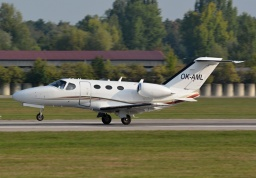Cessna C510 Citation Mustang OK-AML (Aeropartner)
