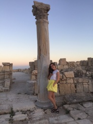 Exploring  more of Kourion.JPG