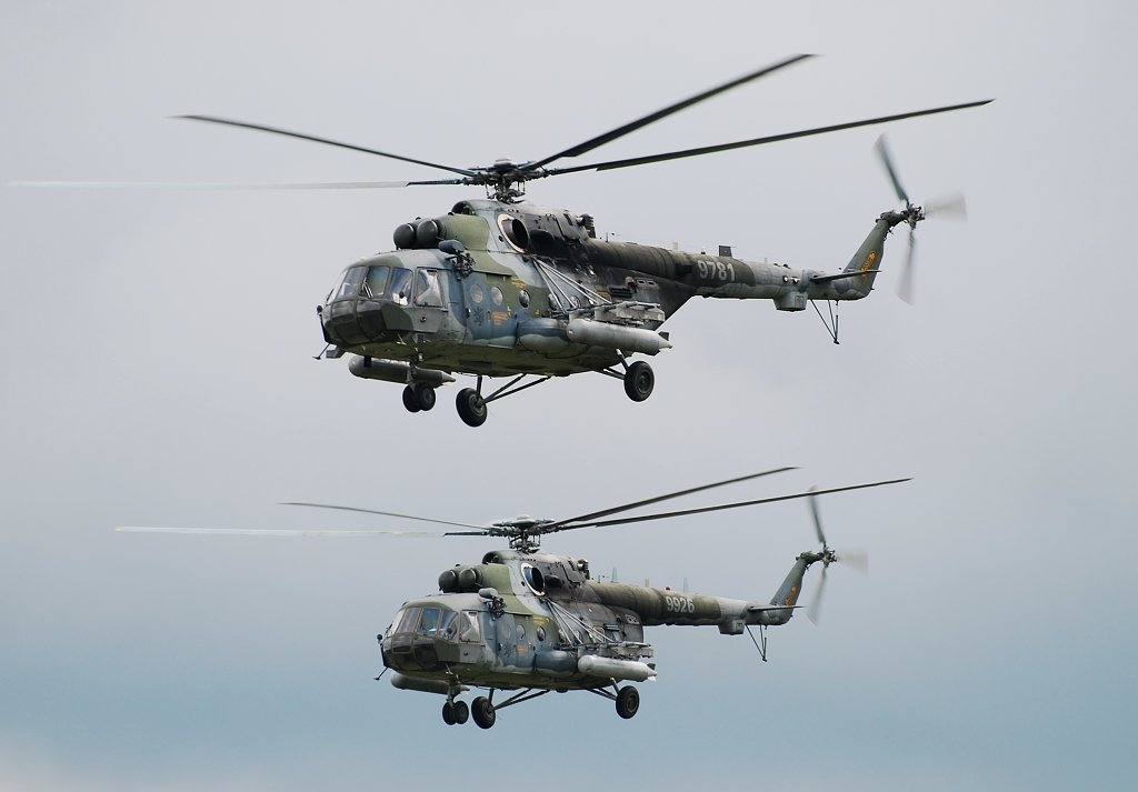 Mi-171Š Czech Air Force