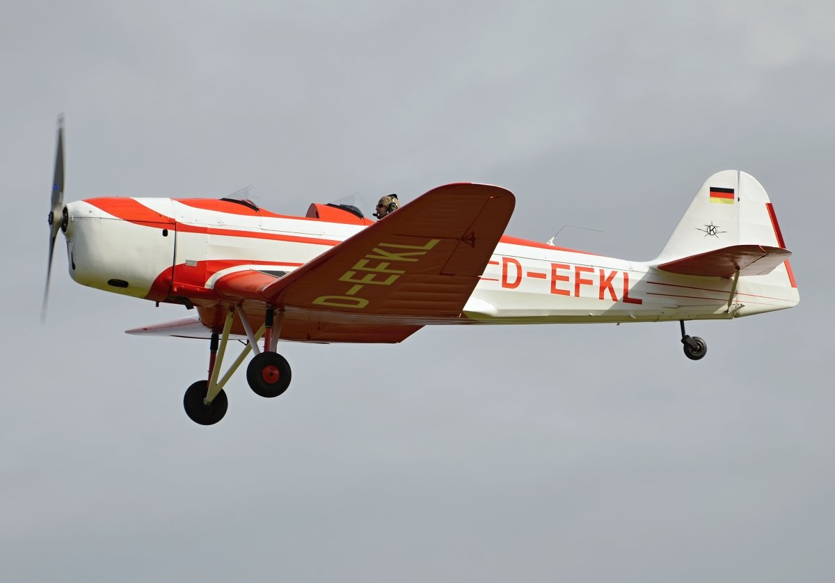 Klemm Kl-35D Private  D-EFKL