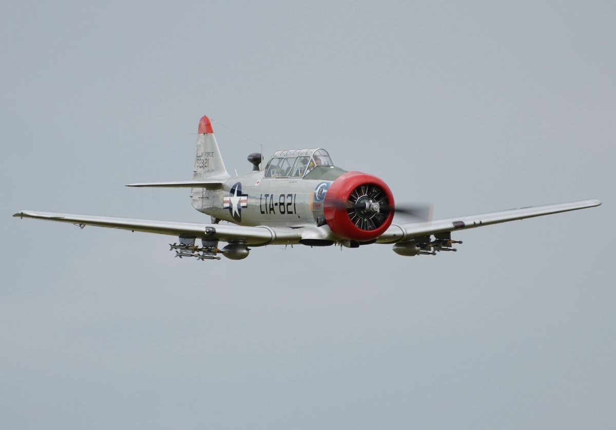 North American T-6G PrivateN544NR