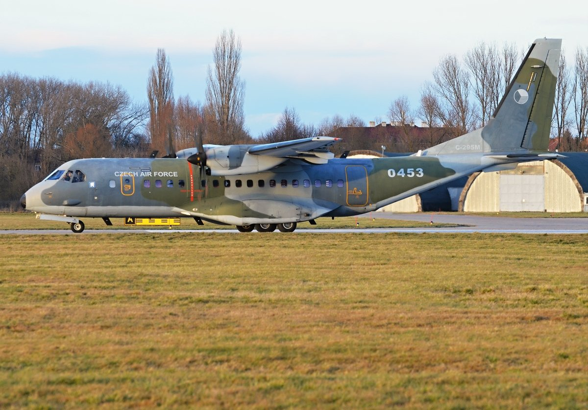 Casa 295M  Czech Air Force   0453