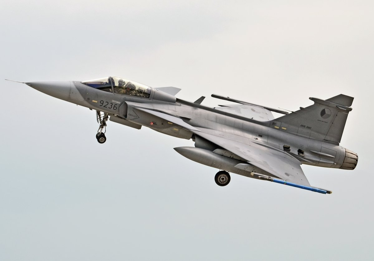 Saab 39C Gripen   Czech Air Force    9236