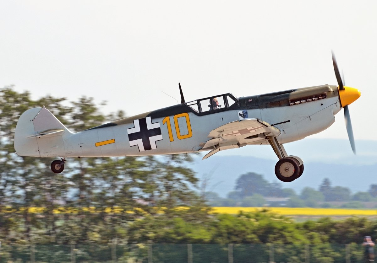 Hispano HA-1112-M1L  Historic Flying Ltd  G-AWHK