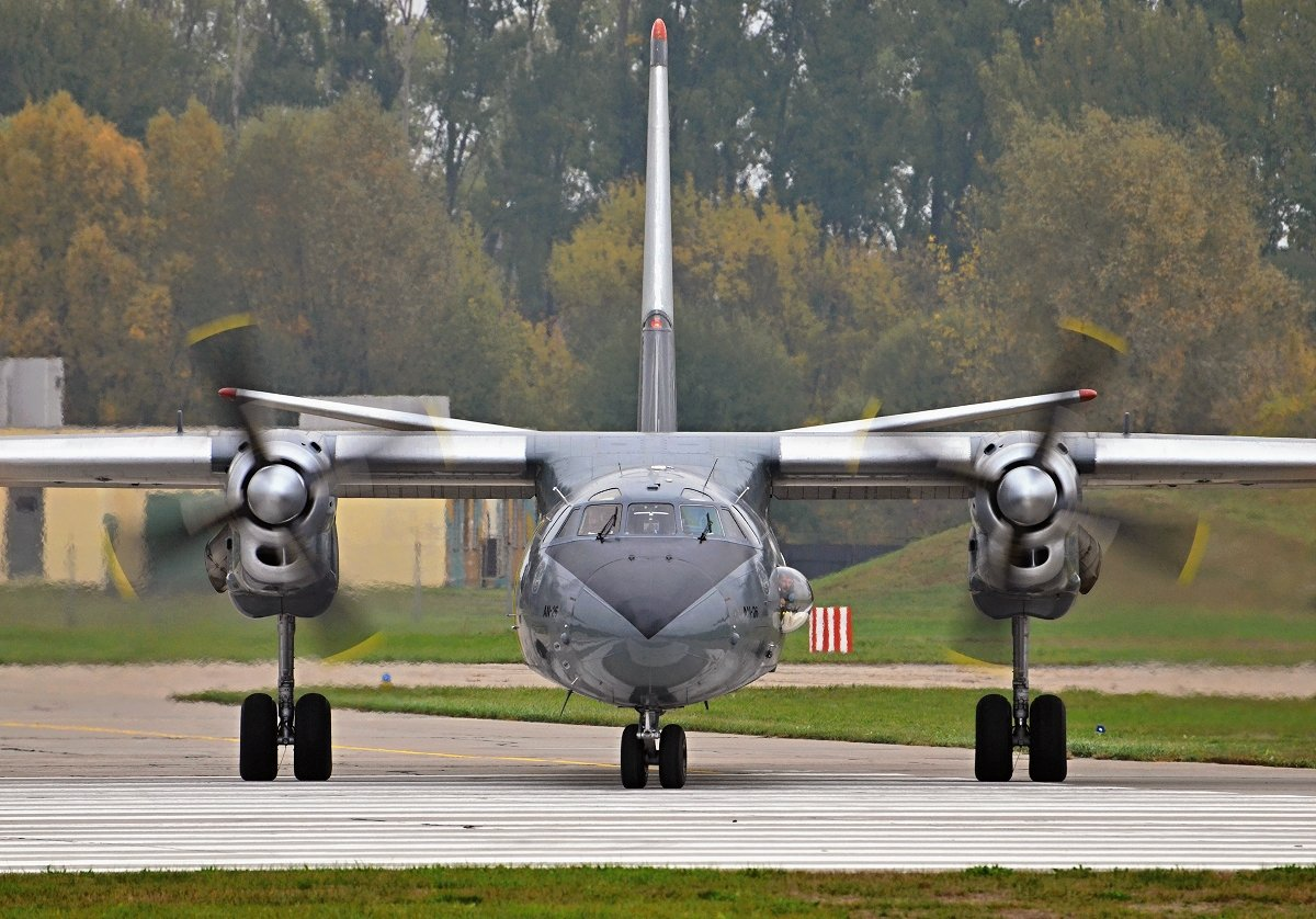 Antonov AN26    Hungarian Air Force    603